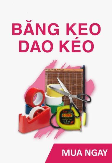 Bút - Mực - Băng Keo - Dao kéo